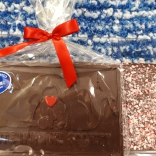 Pawlicious Bar - Dark Chocolate/Candy Cane Crush